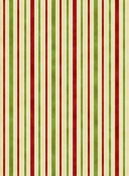 Hampton stripe red & green