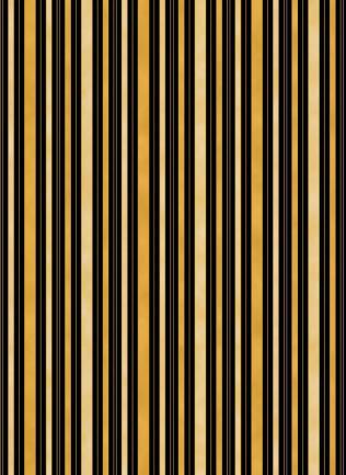 Hampton stripe back & gold