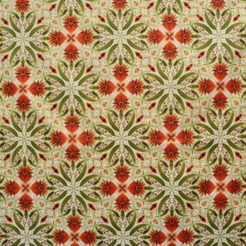 melba tile print cream