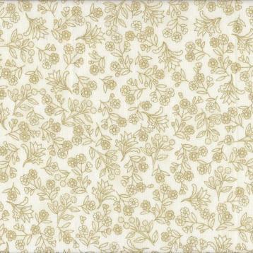 Melba floral gold