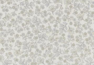 Melba floral silver